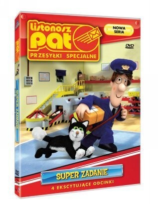 Listonosz Pat Super zadanie DVD