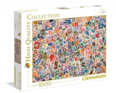 Clementoni Puzzle, Hugh Quality Collection: Stamps