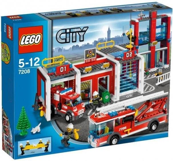 Lego City Remiza Strażacka 7208 Opinie Użytkowników Opineopl