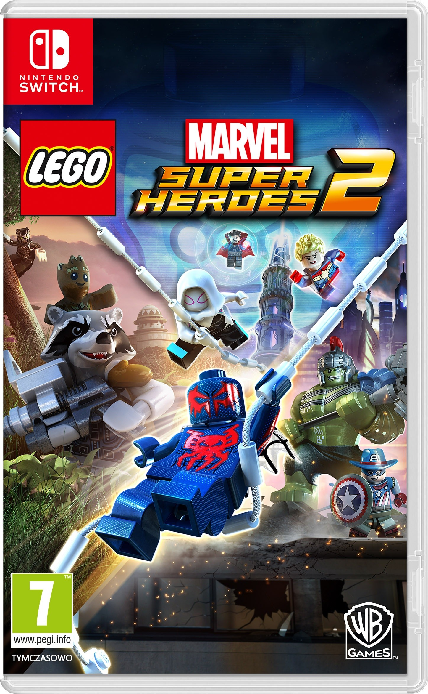 Opinie o Marvel Super Heroes 2 NSWITCH