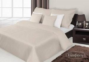 Eurofirany Pościel Satynowa Premium Nova 200x220 Beż 6BCF-24384