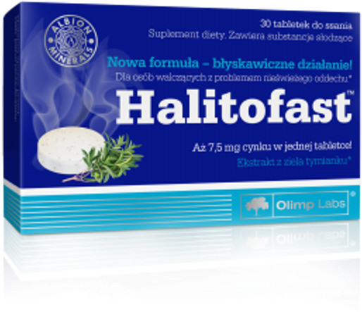 OLIMP LABORATORIES Halitofast tabl.do ssania 30 tabl.