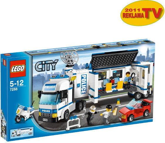 Lego City Mobilna Jednostka Policji 7288 Opinie Użytkowników Opineopl