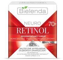 Bielenda Neuro Retinol 70+ Krem-koncentrat regenerujący przeciwzmarszczkowy na dzień i noc 50ml