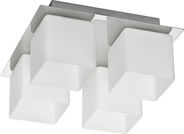 Nowodvorski Plafon MALONE Srebrny by 5548