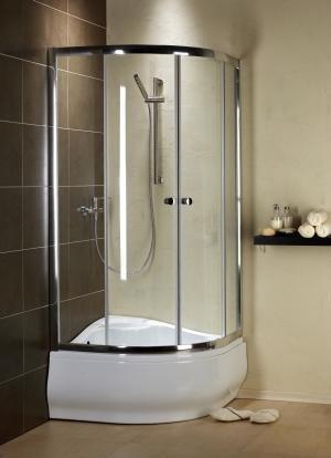 Radaway Premium 90x90 szkło przejrzyste 30401-01-01
