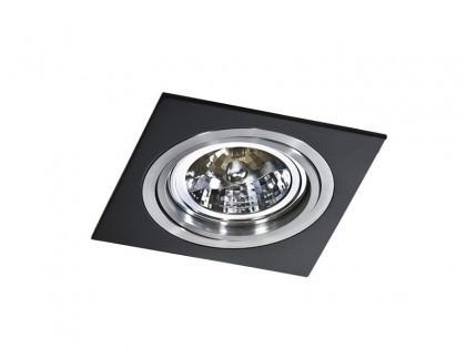 Lampa techniczna Siro 1 Black (GM2101 BK/ALU)