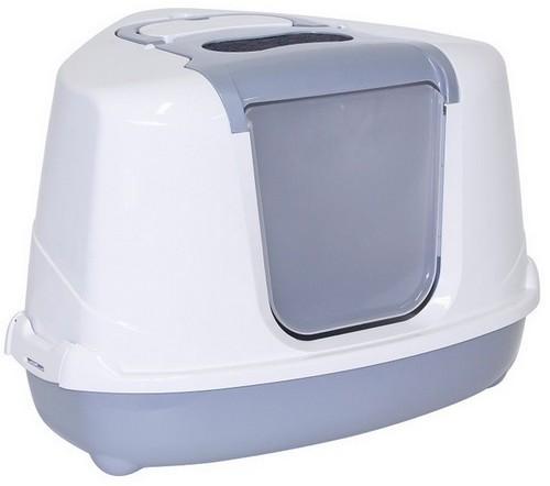 Yarro /Moderna Toaleta Narożna Z Filtrem Szara