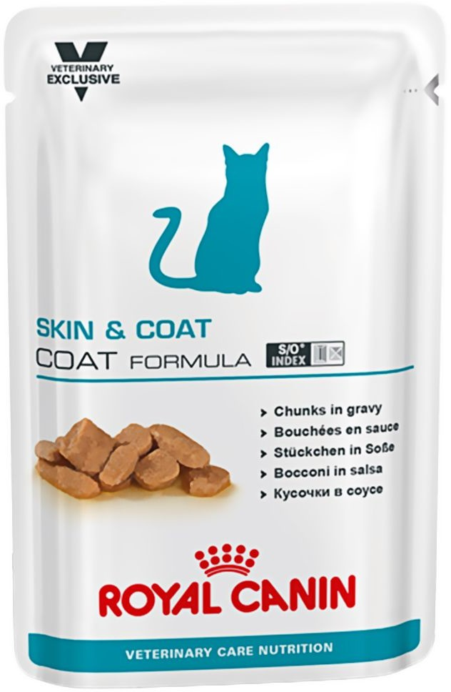 Opinie o Royal Canin Veterinary Diet Vet Care Nutrition Adult Skin & Coat 12 x 100 g