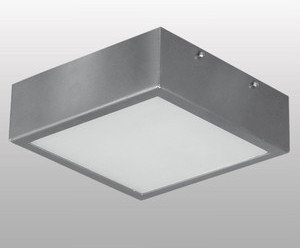Lampex plafon Ventana 216 Srebrny 044/1S 17 / 044/1S
