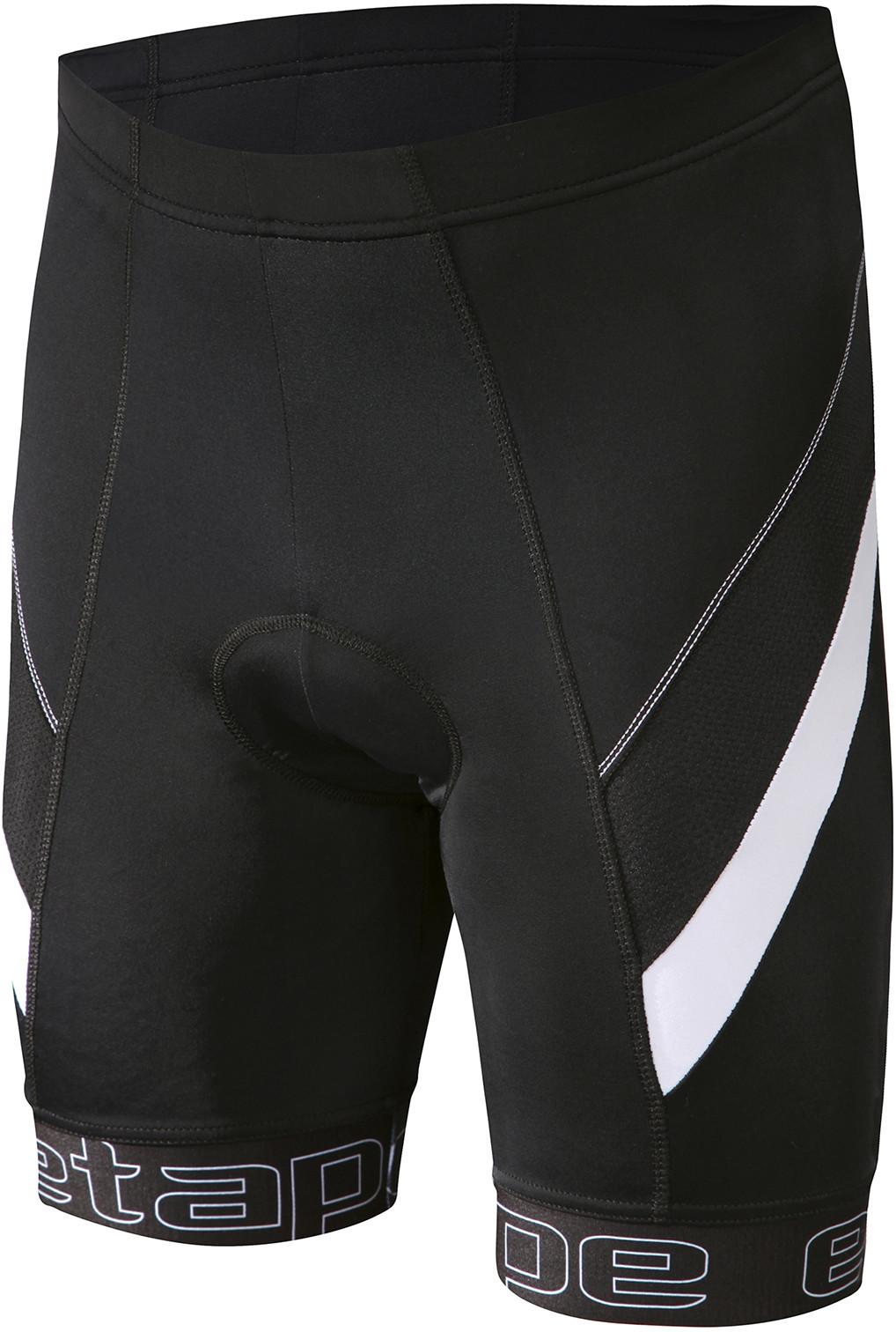 3e53bbbf076dd Etape spodenki rowerowe męskie Profi Pas black/white XXL