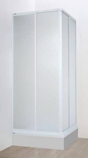 Opinie o Sanplast Eko Plus 70 KN-EKOPLUS-70 70x70 profil biały EW szkło polistyren P Pearl 600-130-0010-01-520