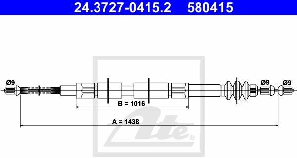 Opinie o ATE LINKA HAM 24.3727-0415.2 MERCEDES 100 2.0D 61KM 93-96 24.3727-0415.2