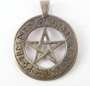Opinie o Sotis Pentagram z runami - brąz AgM45