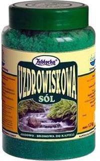 Zabłocka Sól Uzdrowiskowa jodowo-bromowa do kąpieli 1200g