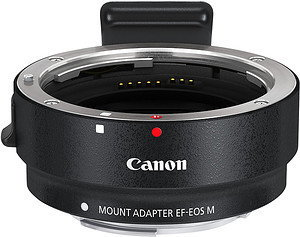 Opinie o Canon adapter EF-EOS M