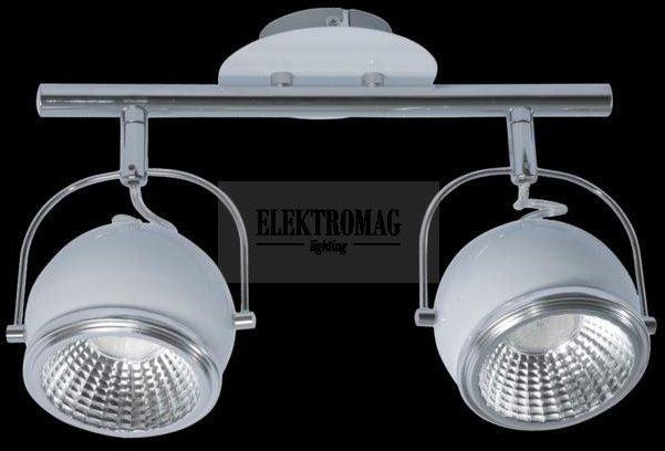Spotlight Reflektorek Ball 2 x LED GU10 5W Biały 2686282