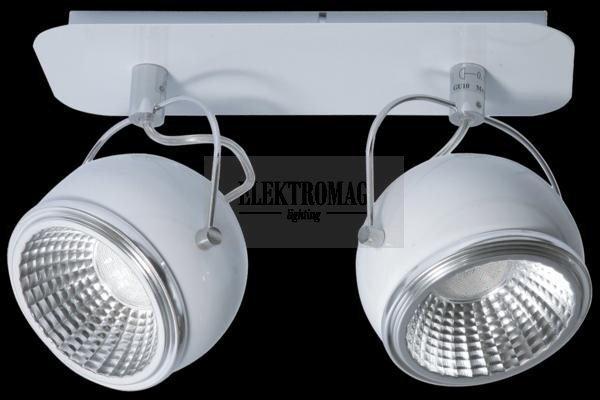 Spotlight Reflektorek Ball 2 x LED GU10 5W Biały 5009282