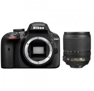 Nikon D3400 + AF-S 18-105 VR czarny (VBA490K003)