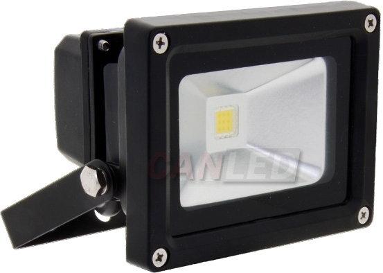CANLED NS-10W-12EP-Z Reflektor z matrycą LED 10W Zimny biały 12VDC