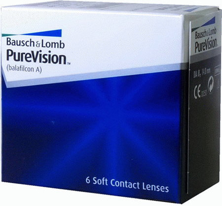Bausch&Lomb Pure Vision 6 szt.