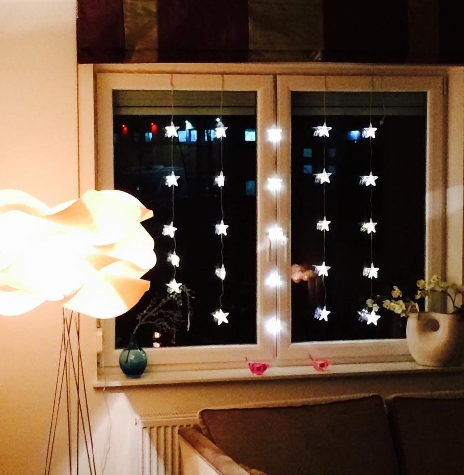 Bulinex Kurtyna świetlna LED gwiazdki 25L 216187