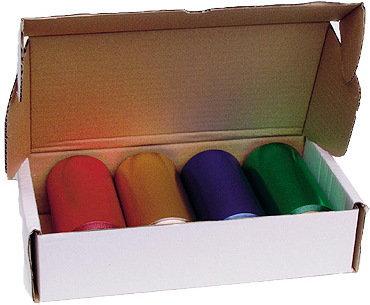 Opinie o Efalock , mocna Folia aluminiowa do pasemek, 20my, szerokość 12cm, 4x50m, zestaw, mix kolorów