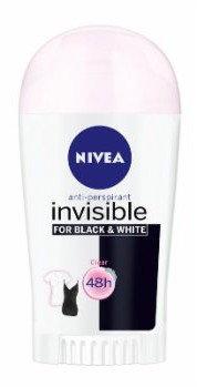 Nivea antyperspirant INVISIBLE CLEAR sztyft 40ml