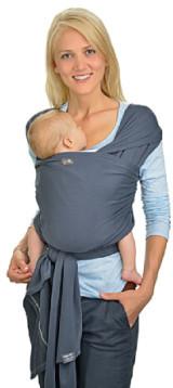 Hoppediz Elastyczna Chusta do noszenia dziecka długa eb-l-ant