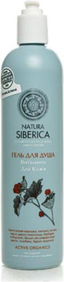 Natura Siberica Witaminy dla skóry Żel pod prysznic 400ml