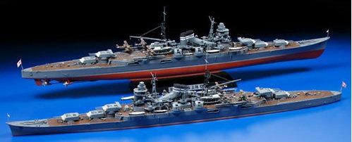Tamiya krążownik Mikuma 78022