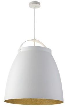 Sigma Lampa wisząca Neva L biało-złota nad stół (30810)