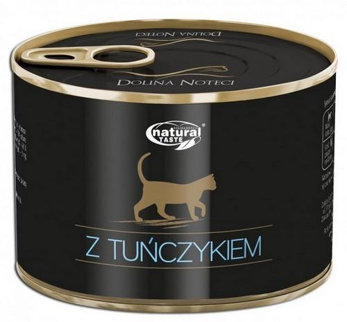 Opinie o Dolina Noteci Natural Taste Dla Kota Z Tuńczykiem 185G