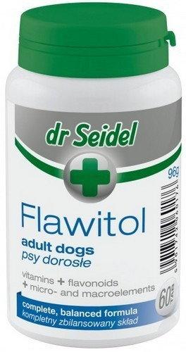 Dr Seidla Flawitol dla psów dorosłych 60 Tabletki 7240