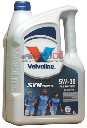 Valvoline SYNPOWER FE 5W30 A1/B1 A5/B5 5L 872552