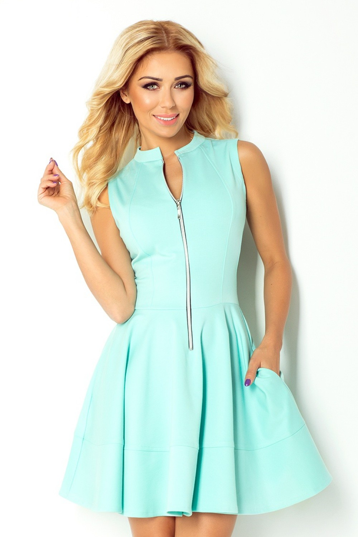 c2fb5c613a Numoco Sukienka Model 123-7 Mint - opinie użytkowników Opineo.pl