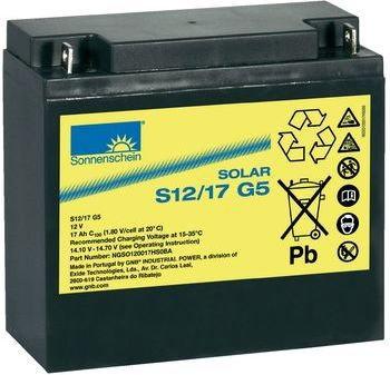Opinie o Bateria słoneczna EXIDE Sonnenschein 12 V 17 Ah