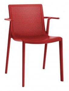 D2.Design Krzesło z podłokietnikami BeeKat czerwon 72270