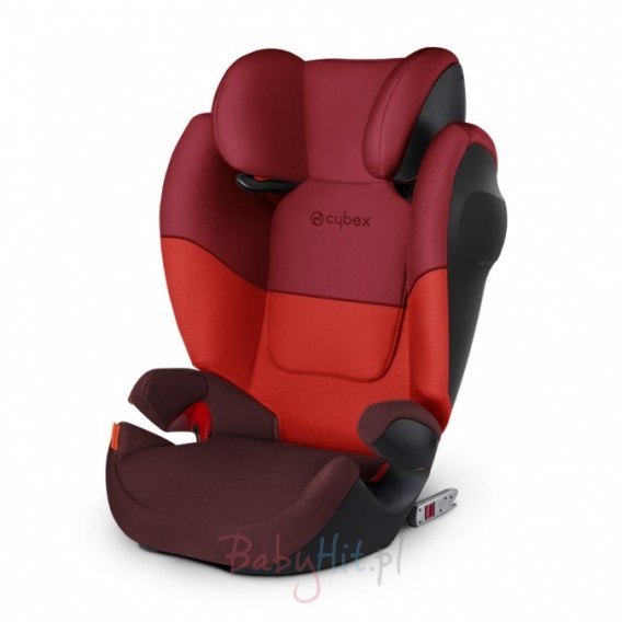 Cybex Solution M Fix SL 15-36kg RUMBA RED