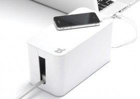 Opinie o BlueLounge CableBox mini - Organizer kabli - Biały CBM-WH