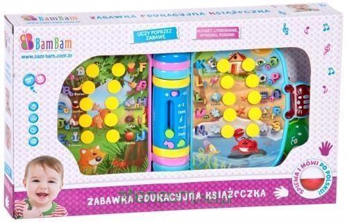 Bam Bam Zabawka edukacyjna Książeczka 334780