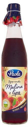Paola HOOP Syrop o smaku malina z lipą 430 ml