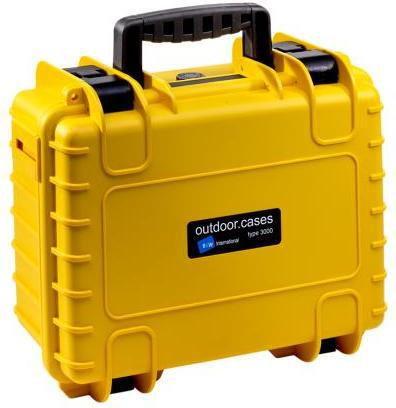 B&W International Outdoor-Case Type 3000 - Walizka na sprzęt foto-video 3000/Y/S (3000/Y/SI)