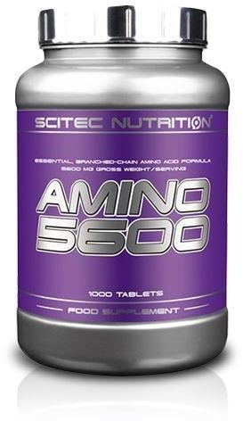 SCITEC Amino 5600 - 1000Tabs (5999100001268)