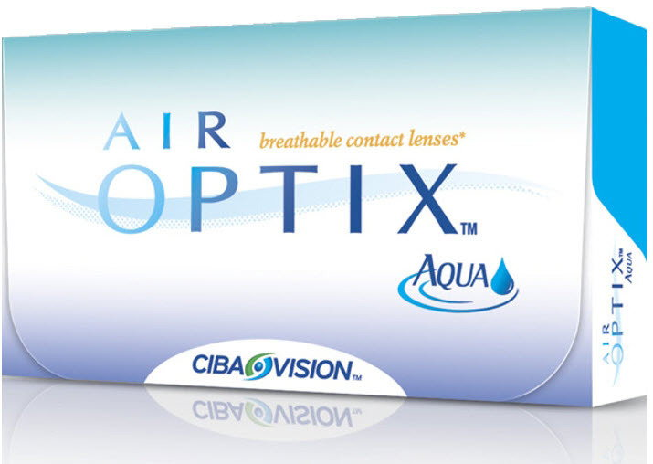 Alcon Air Optix Aqua 6 szt.