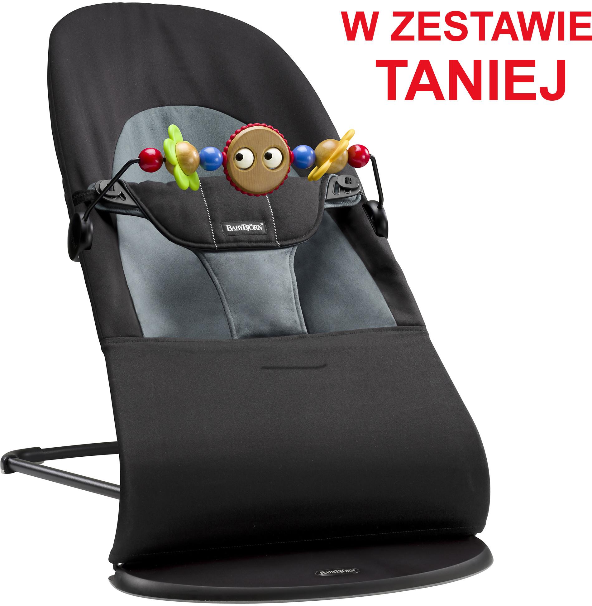 Baby Bjorn Balance Soft Czarny Ciemnoszary