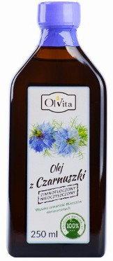 Olvita Olej z czarnuszki zimnotłoczony 250ml