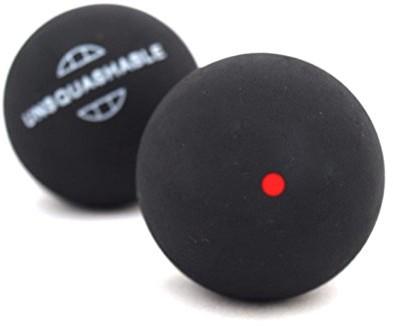 Unsquashable Piłki Do Squasha, Opakowanie Blister 2 Sztuki, Czerwony, Jeden Rozmiar (382210)
