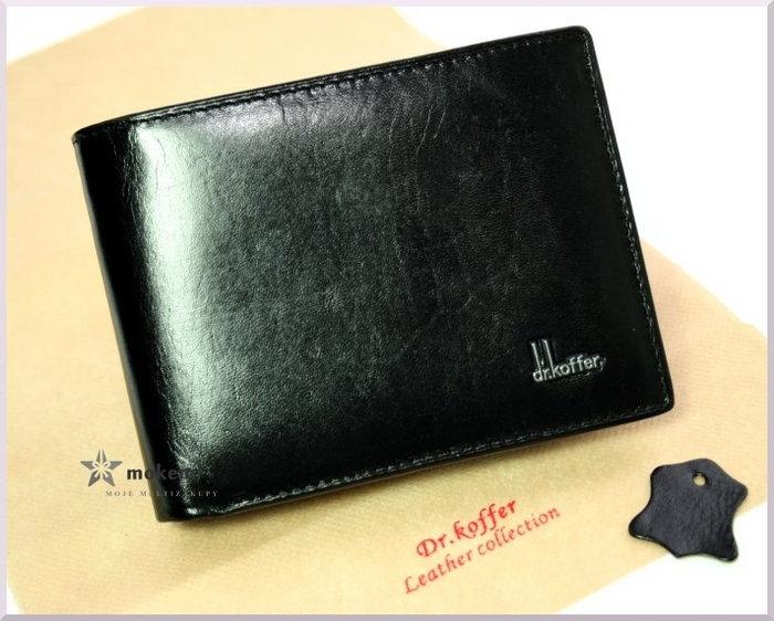 95625b170deaf Dr. Koffer męski portfel skórzany SIM - 100% cielęca skóra - 31001-1-5201D  - opinie użytkowników Opineo.pl