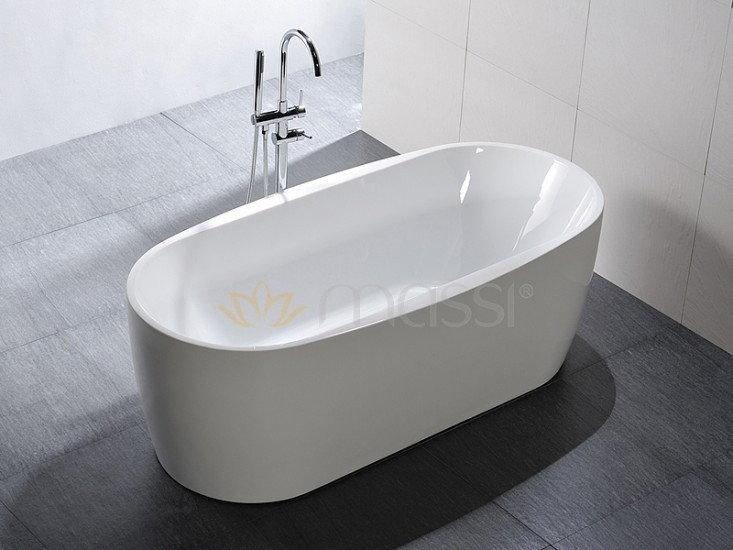Massi Elegant 150x75 biała MSWA-822150